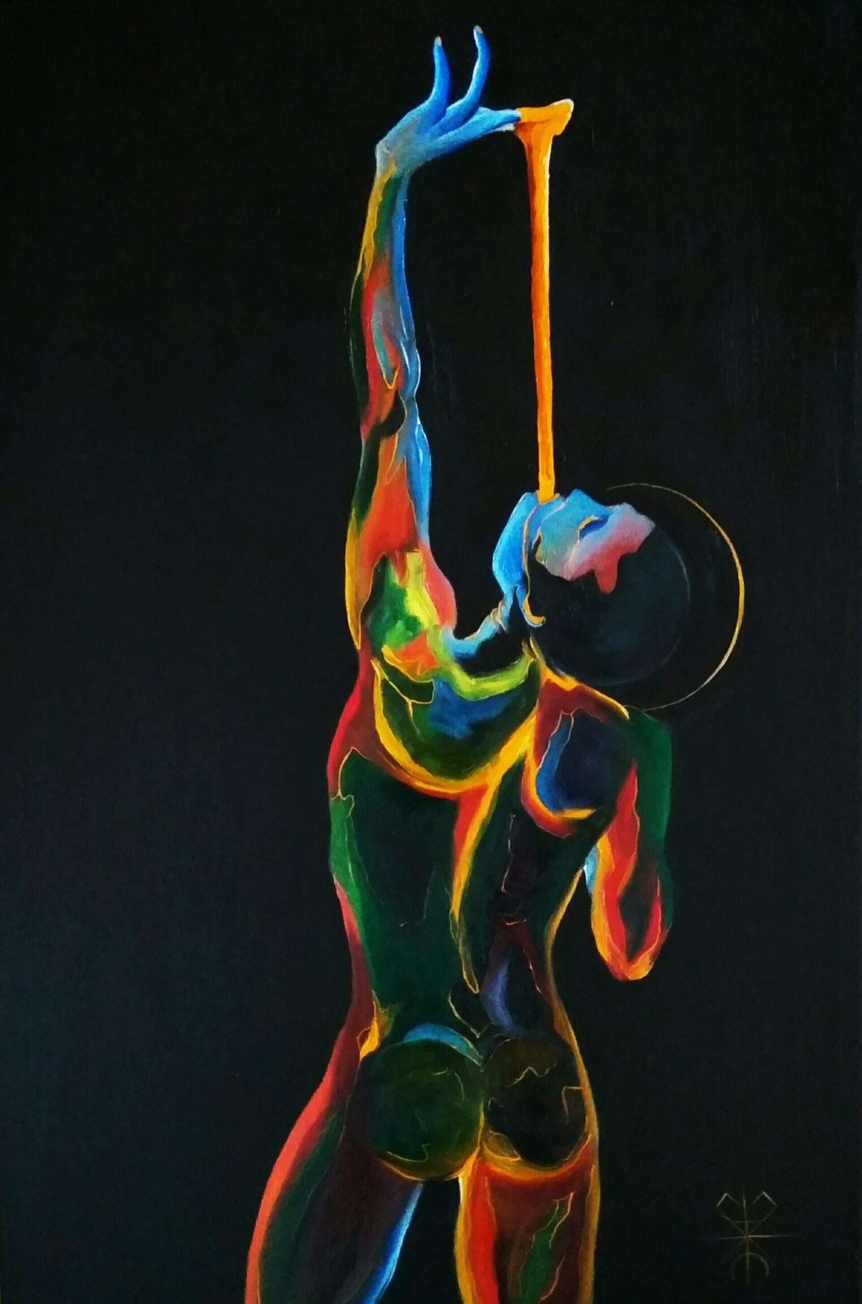 Öl auf Leinwand Maksim Bozhko