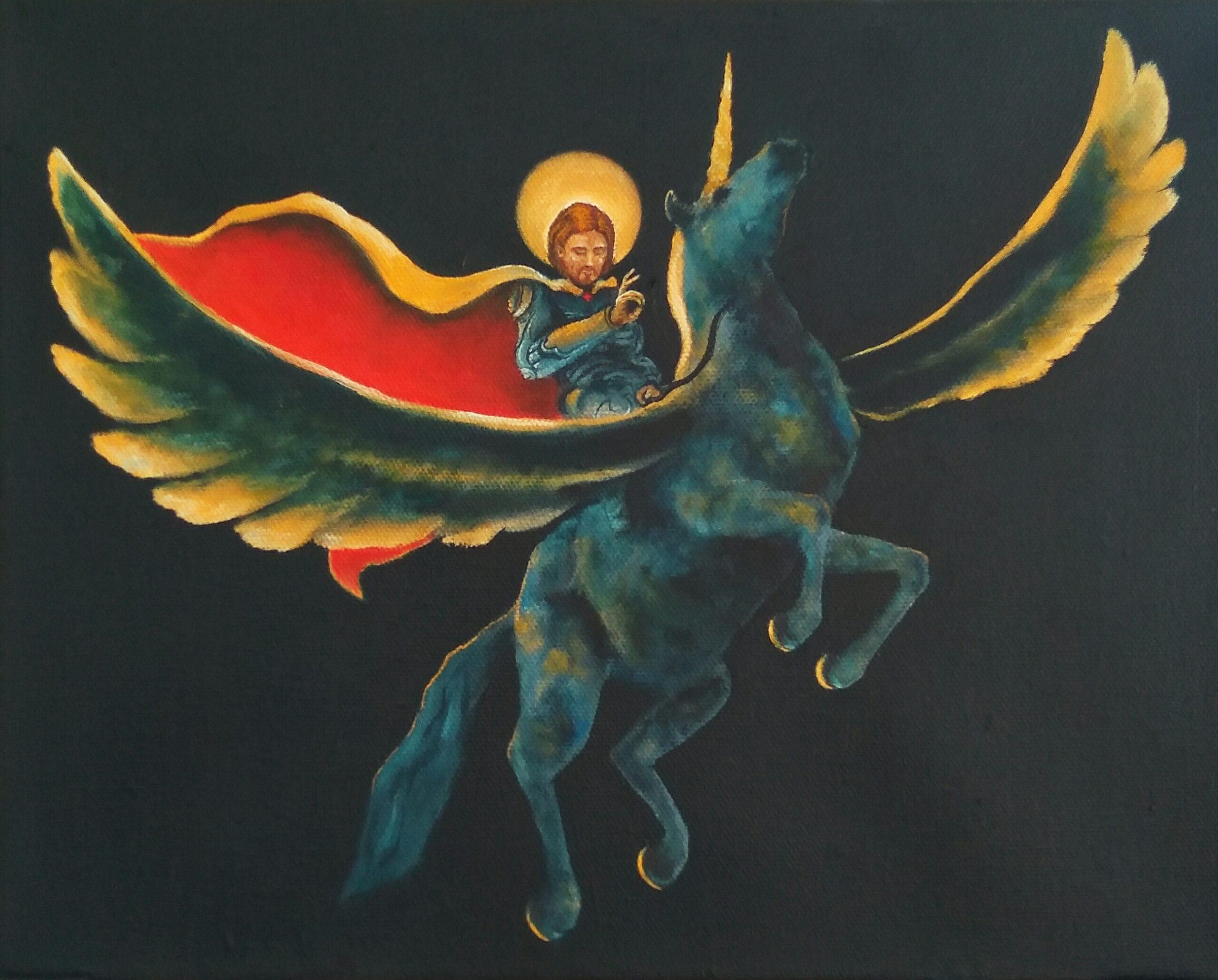 Ölbild auf Leinwand Maksim Bozhko